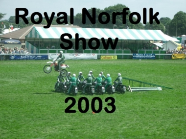 Royal Norfolk Show 2003